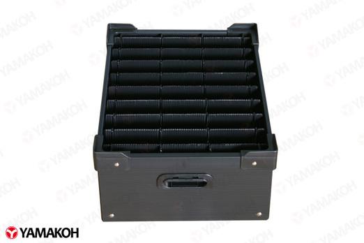 電子基盤用仕切り付通い箱